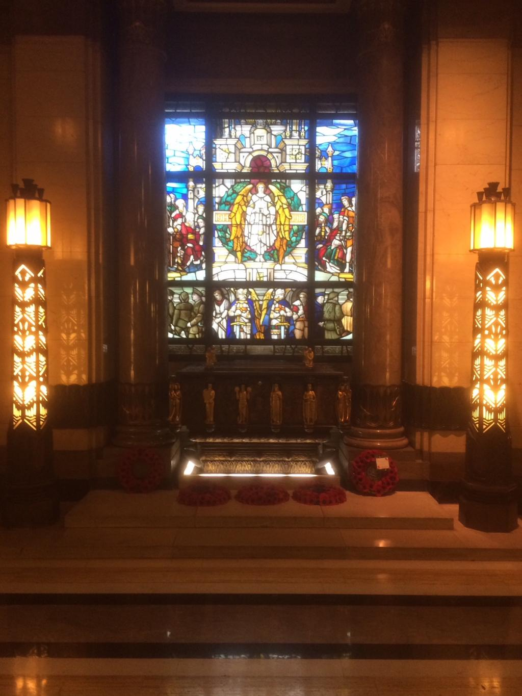 UGLE Stained Glass Window 1